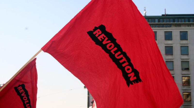 Fahne von REVOLUTION