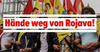 Rojava: Kampf dem türkischen Überfall!