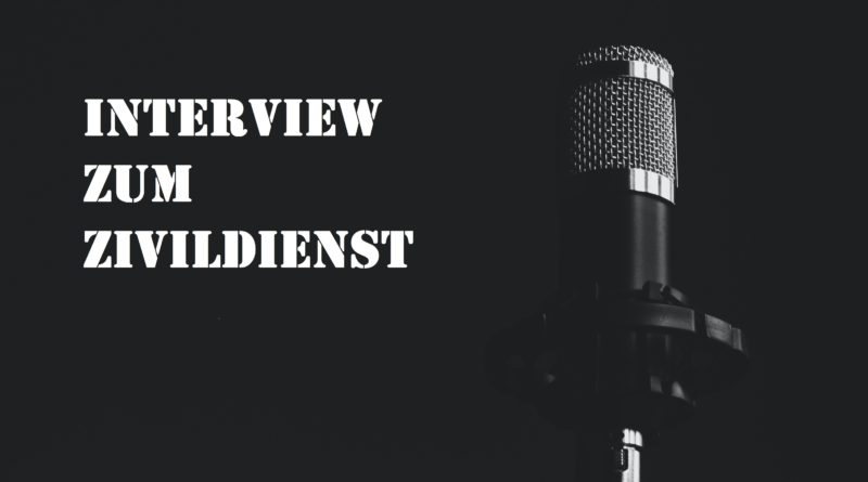 Interview zum Zivildienst